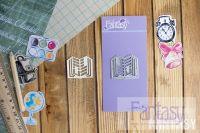"""Дизайнерска щанца за изрязване """"Открытая книга"""", Fantasy Dies"""