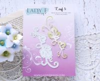 "Щанца за изрязване ""Leaf 005"", Lady E Design"
