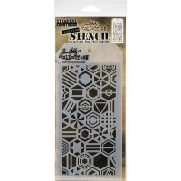 "Стенсил ""Patchwork Hex"", Tim Holtz"
