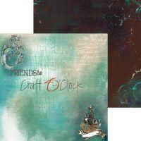 """Дизайнерски комплект хартии """"Sea Stories"""", 15см, Craft o'Clock"""