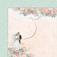 """Дизайнерски комплект хартии """"Love of my life"""", 30см, Lemoncraft"""