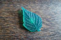 """Молд """"Листо на малина"""", 9×5см"""