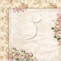 """Дизайнерски комплект хартии """"Дом на рози"""", 30см, Lemoncraft"""