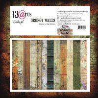 "Дизайнерски комплект хартии ""Grungy Walls"", 30.5см, 13@rts"