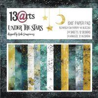 """Дизайнерски комплект хартии """"Under the Stars"""", 15см, 13@rts"""
