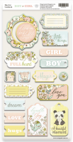 "Дизайнерски чипборд елементи ""Boy or Girl"", Scrapmir"