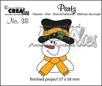Комплект щанци за изрязване №38, Crealies