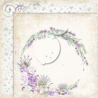 "Дизайнерски лист хартия ""My sweet Provence"" -1 - 30.5см, Lemoncraft"