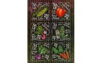 """Хартия за декупаж """"Свежи зеленчуци"""", А3, 25гр/м"""