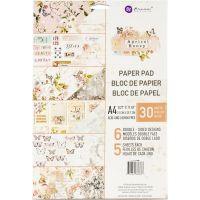 "Дизайнерски блок хартии ""Apricot Honey"", А4, Prima Marketing"