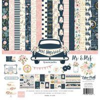 "Дизайнерски комплект хартии ""Младоженци"", 30.5см, Echo Park"