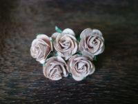 Рози, бежови, 25мм