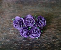 Рози, виолетови, 25мм