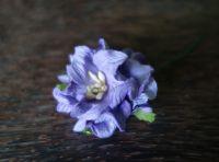 Гардения, 40 мм, лилава.