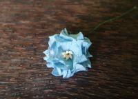 Гардения, синя, 35мм
