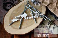 """Дизайнерски елементи от бирен картон """"Стрелочки 2"""", Fantasy Dies"""