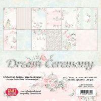 """Дизайнерски комплект хартии """"Мечтаната церемония"""", 30см, Craft&You Design"""