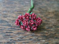 Рози, бордо, 10мм