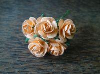 Рози, наситена праскова, 25мм