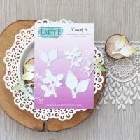 "Щанци за изрязване ""Leaves 008"", Lady E Design"