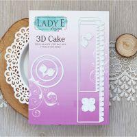 """Щанци за изрязване """"3D Cake"""", Lady E Design"""