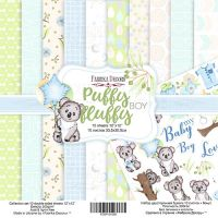 """Комплект дизайнерски хартии """"Puffy Fluffy Boy"""", 30см, Fabrika Decoru"""