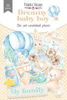 "Дизайнерски хартиени елементи ""Dreamy baby boy"", Fabrika Decoru"