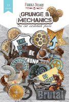 "Дизайнерски хартиени елементи ""Grunge&Mechanics"", Fabrika Decoru"