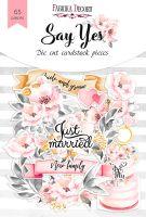 "Дизайнерски хартиени елементи ""Say Yes"", Fabrika Decoru"