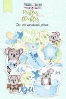 "Дизайнерски хартиени елементи ""Puffy Fluffy Boy"", Fabrika Decoru"