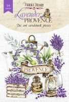 "Дизайнерски хартиени елементи ""Lavender provence"", Fabrika Decoru"