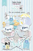"Дизайнерски хартиени елементи ""My little baby boy"", Fabrika Decoru"