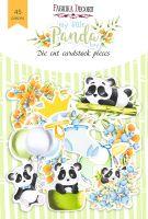 "Дизайнерски хартиени елементи ""My little panda boy"", Fabrika Decoru"