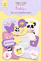 "Дизайнерски хартиени елементи ""My little baby girl-1"", Fabrika Decoru"