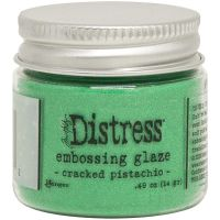 "Дистрес ембосинг пудра ""Cracked Pistachio"", Tim Holtz"