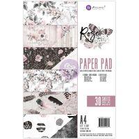 """Дизайнерски блок хартии """"Rose Quartz"""", А4, Prima Marketing"""