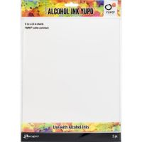 Tim Holtz Alcohol Ink White Yupo Paper, 230gsm