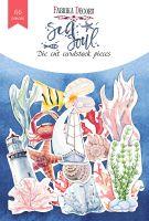 "Дизайнерски хартиени елементи ""Sea soul"", Fabrika Decoru"