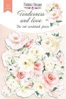 "Дизайнерски хартиени елементи ""Tenderness and love"", Fabrika Decoru"