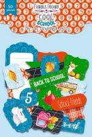 "Дизайнерски хартиени елементи ""Cool School"", Fabrika Decoru"