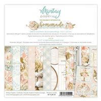 "Дизайнерско блокче хартии ""Homemade"", 15см, Mintay Papers"