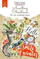 """Дизайнерски хартиени елементи """"Awaiting Christmas"""", Fabrika Decoru"""