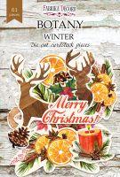 "Дизайнерски хартиени елементи ""Botany winter"", Fabrika Decoru"