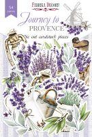 "Дизайнерски хартиени елементи ""Journey to Provence"", Fabrika Decoru"