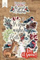 """Дизайнерски хартиени елементи """"The spirit of Christmas"""", Fabrika Decoru"""