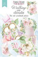"Дизайнерски хартиени елементи ""Walking on clouds"", Fabrika Decoru"
