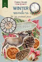 """Дизайнерски хартиени елементи """"Winter wonders"""", Fabrika Decoru"""