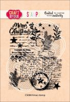 "Прозрачен печат ""Xmas Stamp"", Craft&YouDesign"