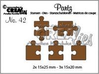 Комплект щанци за изрязване №42, Crealies