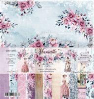 "Дизайнерски комплект хартии ""Marseille"", 30.5см, Summer Studio"
